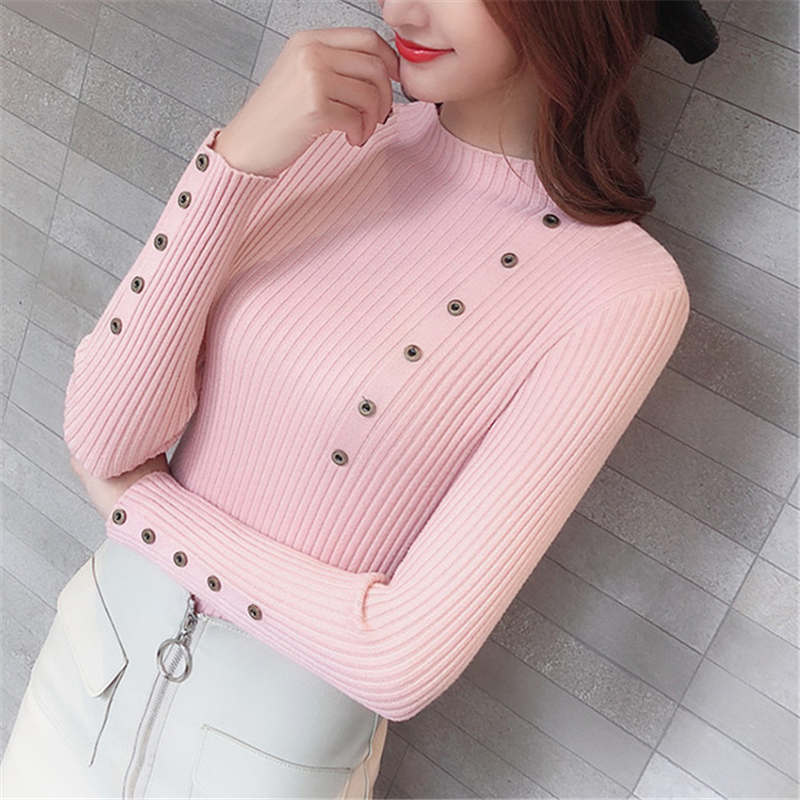 Women Sweater Turtleneck Sweaters Women Korean Fashion Woman Knitted Sweater Women Sweaters And Pullovers Winter Clothes Women