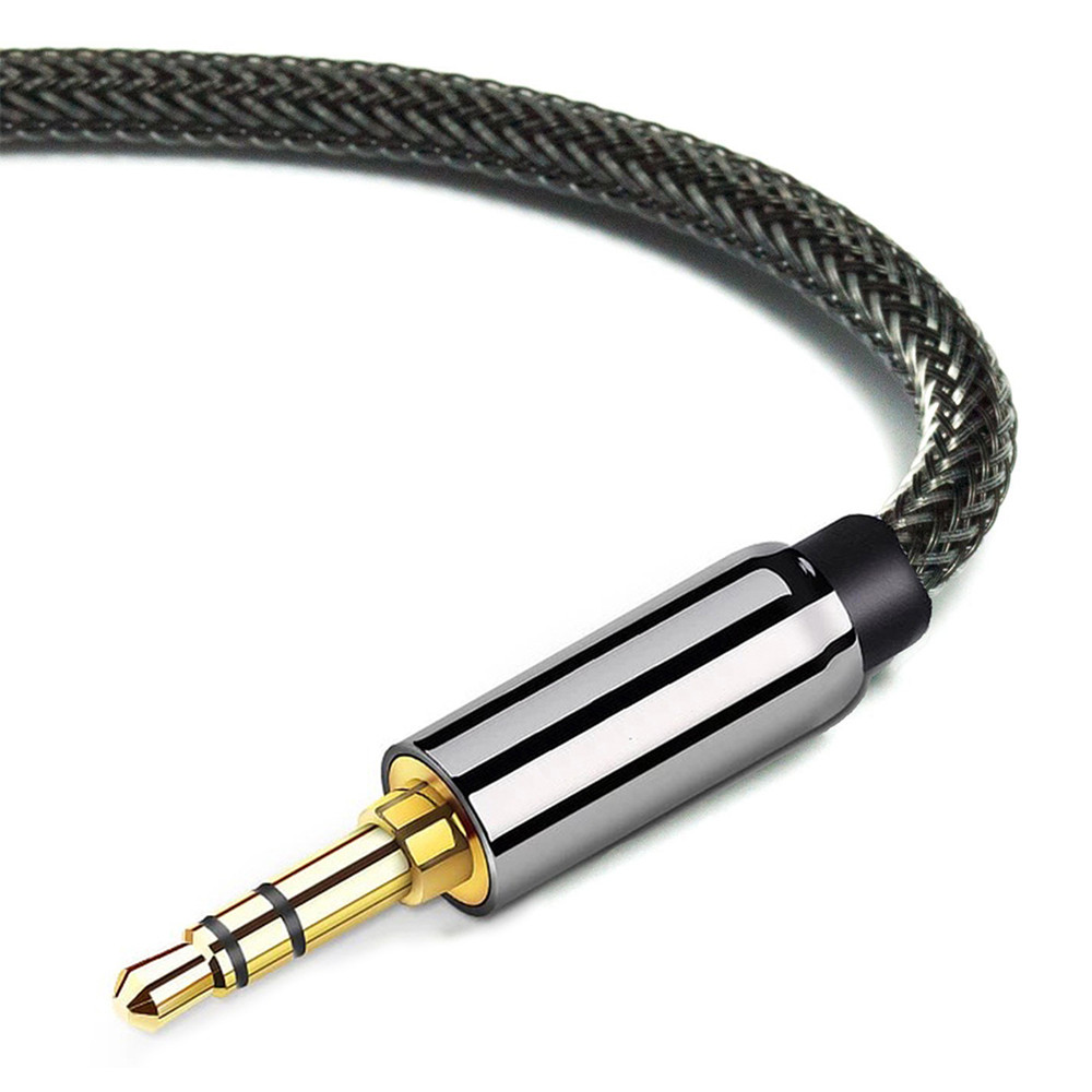 AUX Cable 3.5 mm Jack Speaker Cable for MP3 MP4 Player TV BOX Speaker 3.5mm Audio Cable Male to Male 2M image