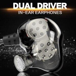 Image 2 - STONEGO סטריאו ב אוזן אוזניות כפולה נהג בחדות גבוהה צג אוזניות רץ אוזניות ספורט אוזניות כבד בס