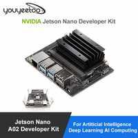 NVIDIA Jetson Nano A02 Kit de desarrollador para Artiticial inteligencia de aprendizaje profundo AI computación apoyo PyTorch... TensorFlow Jetbot