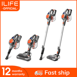 New Arrival ILIFE H50  Handheld Vacuum Cleaner 10000Pa Strong Suction Power Hand Stick Wireless Stick Aspirator 1.2L Big Dustbin
