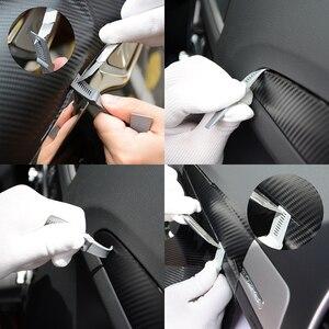 Image 2 - Ehdis 3個の炭素繊維ラップスクレーパーツール車スキージ自動クリーニングガラス窓ビニールリムーバーツール
