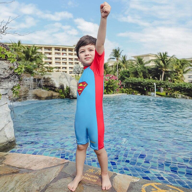 KID'S Swimwear Men's Tour Bathing Suit Baby Swimming Trunks Big Boy Swimwear BOY'S INS Set Tour Swimwear By One-piece