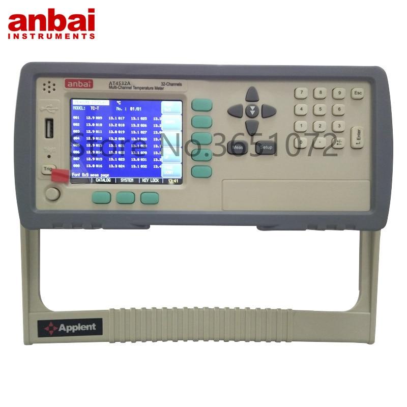 At4532a gravador de temperatura instrumento de medição de temperatura líquida