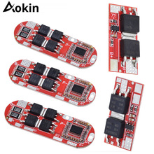 Aokin BMS 1S 2S 10A 3S 4S 5S 25A 18650 Li-Ion Lipo Lithium-Batterie Schutz circuit Board Modul PCB PCM Ladegerät