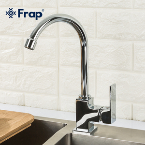 Frap Kitchen Faucet 360 Degree Rotation Water Mixer Tap Hot and Cold Water Kitchen Faucet torneira cozinha F40551