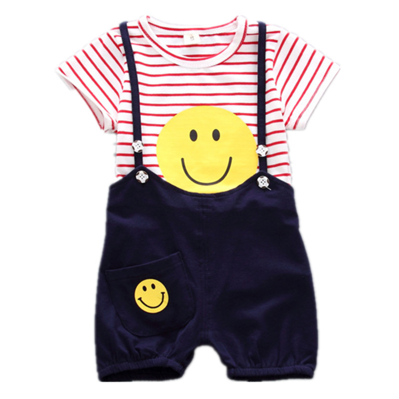 New 2-7T Little Kids Girl Summer Casual 2pcs Cute Ruffle Love T-Shirt Tops Sling Floral Skirt Clothes Outfits Sets