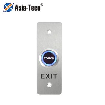Kontrola dostępu wyjście przycisk dotykowy przełącznik wciskany mechanizm otwierania drzwi zwolnienie systemu kontroli dostępu tanie i dobre opinie LUCKING DOOR CN (pochodzenie) 115 * 40 * 30mm ST840 Przycisk wyjścia