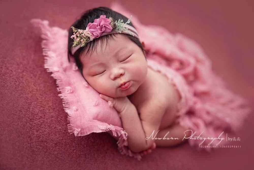 الوليد الطفل التصوير الدعائم الطفل صور زي الرضع لفالفافة قطن nurبطانية ناعمة حتى فستان لفتاة صبي