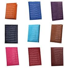 Разноцветная Обложка для паспорта мужчин и женщин элегантный