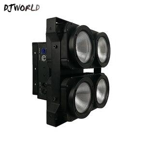 Image 3 - Kombinasyon 4x100W 4 LED gözler Kör Işık COB Soğuk/Sıcak Beyaz LED Yüksek Güç Profesyonel Sahne Aydınlatma parti için Dans Pisti