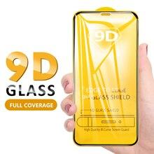 Изогнутый 9D протектор экрана для iPhone 11 Pro Max X XS Max XR полное покрытие закаленное стекло для iPhone 6 6S 8 7 Plus 11 Pro Max стекло