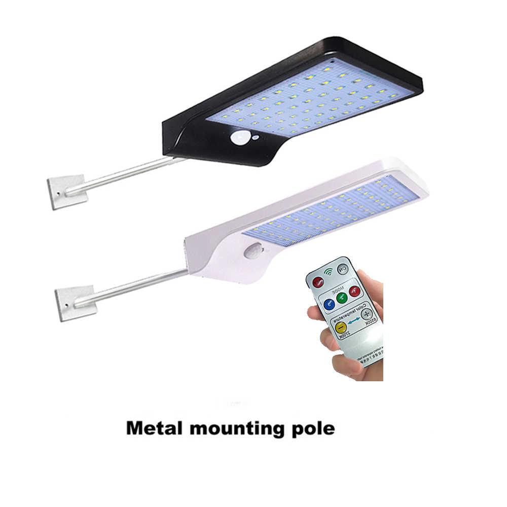 Luz Solar al aire libre de jardín Luz de calle LED Sensor foco lámpara de energía Solar impermeable jardín seguridad luz spot envío gratis r
