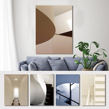 Abstract Poster Print Wall Art Canvas Painting Stairs Corridor Space Buildings Pictures For Living Room Home Decor Drop Shipping wall art canvas painting stairs corridor space buildings abstract poster print pictures for living room home decor drop shipping