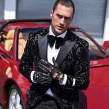 Мужские перчатки без подкладки harssidanzar тонкие из натуральной