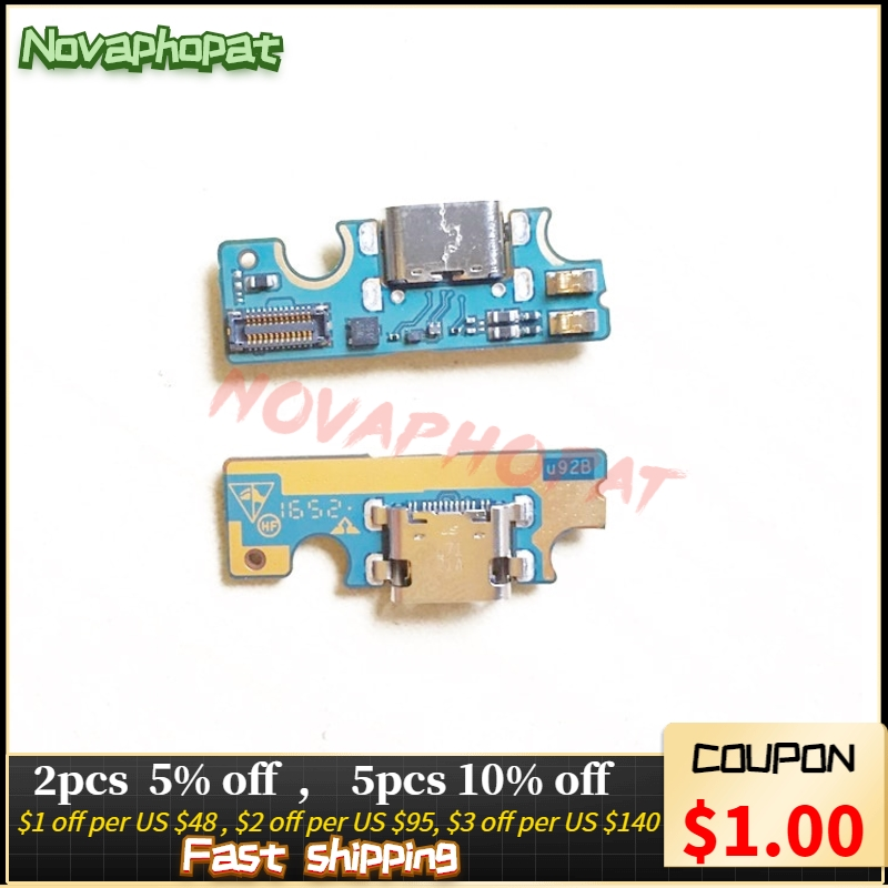 Novaphopat For ZTE Trek 2 HD K88 USB Dock Charger Charging Port Connect Connector Flex Cable Board Replacement + tracking Mobile Phone Flex Cables     - title=