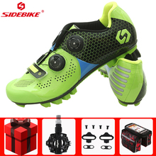 Sidebike Cycling Shoes Men Sneakers sapatilha ciclismo mtb Carbon Fiber Mountain Bike Riding Self-Locking Bicycle Sport Shoes sidebike cycling shoes road men carbon sapatilha ciclismo mtb bike shoes zapatos bicicleta sneakers self locking white 2019 new