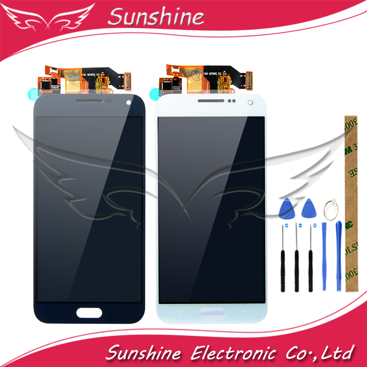 TFT <font><b>LCD</b></font> Für Samsung Galaxy E5 E500 E500F <font><b>E500H</b></font> E500M <font><b>LCD</b></font> Display Mit Touch Screen Sensor Komplette Montage image