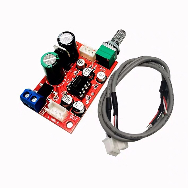 NE5532 Preamplifier Board Audio Preamp Pre amplifier Servo Power DC8 24V AC5 16V