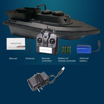 500M RC Fishing Finder Bait Boat Toys Upgraded Version Bait Nesting Remote Control  Ship Fishing Ship Boats Tool EU/US Plug Gift mini fast speed electric rc fishing bait boat 300m remote control fish finder fishing boat speedboats children kids toys gifts