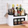Multi Funktion Küche Racks Würze Jar Lagerung Box Kombination Messer Halter Set-in Regale und Halter aus Heim und Garten bei