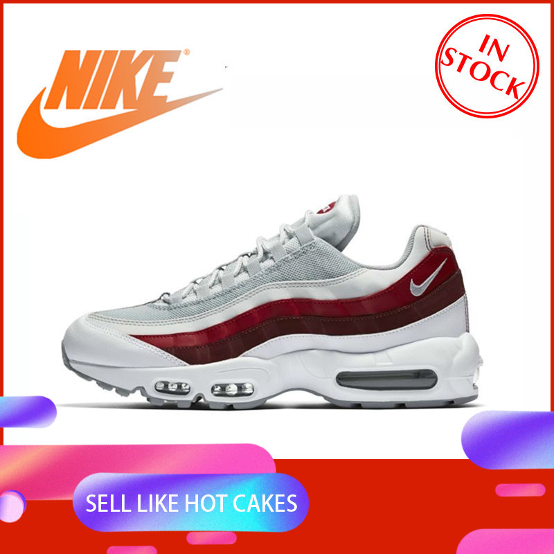 Original Authentic NIKE AIR MAX 95 ESSENTIAL Men's Running Shoes Outdoor Sports Shoes Durable Jogging Comfort 749766-103