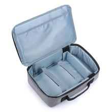 Cewaal Многофункциональный ручной проектор аксессуары сумка для хранения проектора влагостойкая коробка для проектора прочный отсек