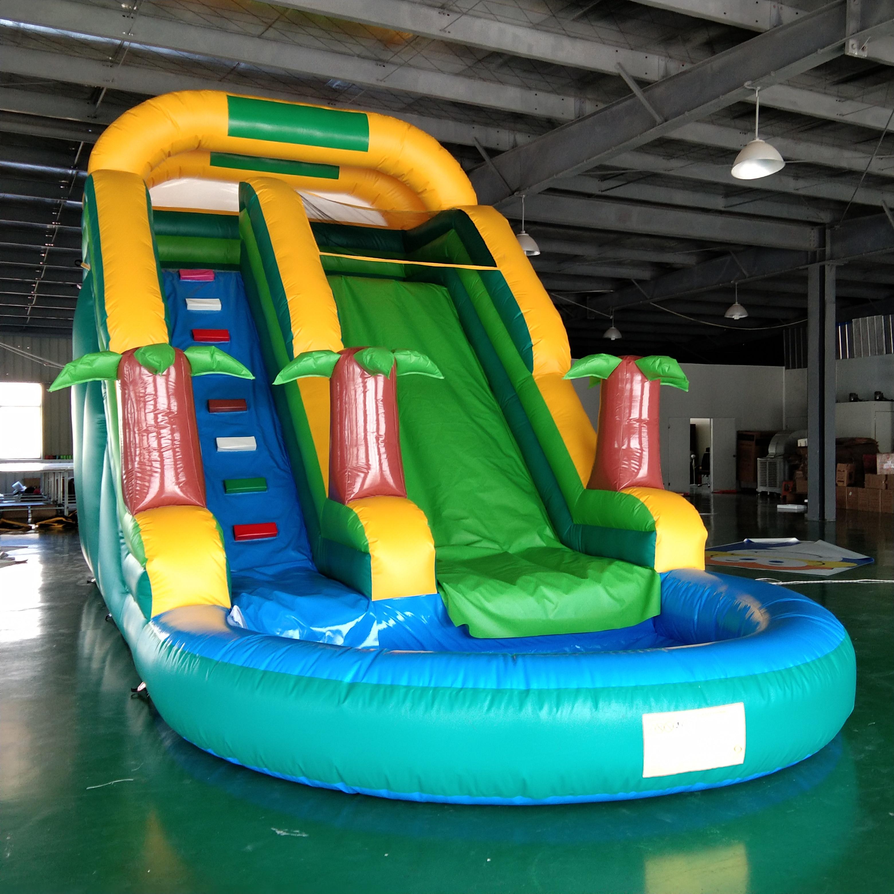Large Inflatable Coconut Tree Slide