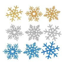 200PCS Snowflake Christmas Decorations for Home Baby Girls Hair Accessories DIY Headwear No Hairclip Barrette no 200pcs diy rb 1