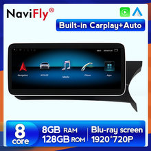 8 + 128G RHD Android 10 Carplay Auto dvd reproductor multimedia navegación gps para Mercedes-benz Clase C W204 2011, 2012 de 2013 NTG4.5
