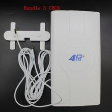 Amplificateur de Signal d'antenne 4G LTE TS9 SMA CRC9, connecteur 45dbi pour Huawei B310,B593,E5186,E5172,B315,b618