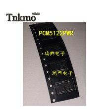 5 pcm5122pwr TSSOP-28 pcm5122pw tssop28 pcm5122 5122 chip conversor de áudio d/a novo e original