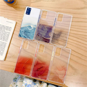 Image 5 - Transparent Marble Phone Case For Samsung Galaxy S21 Plus S20 FE 5G Note 20 Ultra A11 A12 A21s A31 A32 A51 A52 A71 A72 5G Cover