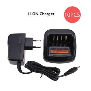 Image 1 - 10X CH10A07 Walkie Talkie Caricabatterie per Hytera BL2502 BL2503 BL2006 BL2008 BL1504