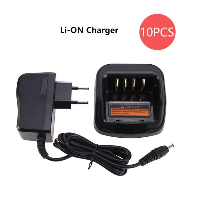 10X CH10A07 Walkie Talkie Caricabatterie per Hytera BL2502 BL2503 BL2006 BL2008 BL1504