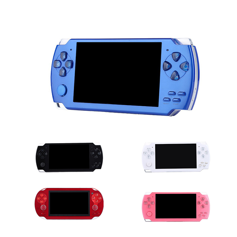 Handheld Game Console Real 8GB Memory Portable Video Game 4.3Inch HD Screen 2000 Classic Game Retro Game Console Portable