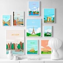 Affiches et imprimés nordiques pour décoration de salon