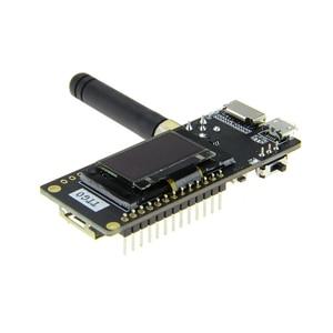Image 3 - TTGO LoRa32 V2.1 _ 1,6 версия 433/868/915 МГц ESP32 LoRa OLED 0,96 дюймовая SD карта Bluetooth Wi Fi беспроводной модуль с SMA