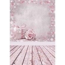 Prezenty kwiaty różowe tło strony dzieci dziecko tła Photocall walentynki fotografia 3D dla Photo Studio Photophone