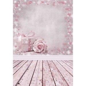 Image 1 - Regali fiori rosa festa sfondo bambini fondali per bambini Photocall san valentino fotografia 3D per Studio fotografico fotofono