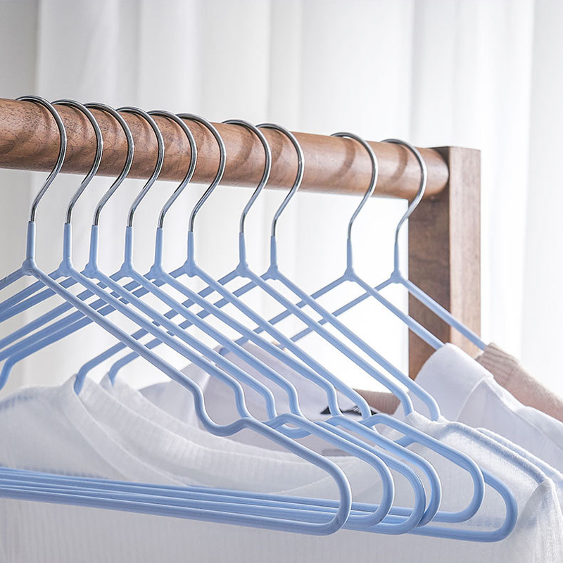 5pcs Children Adult Clothes Hanger Clothes Drying Rack Non-Slip Metal Shirt Hook Hangers Coat Hanger Clothes Accessories Rack