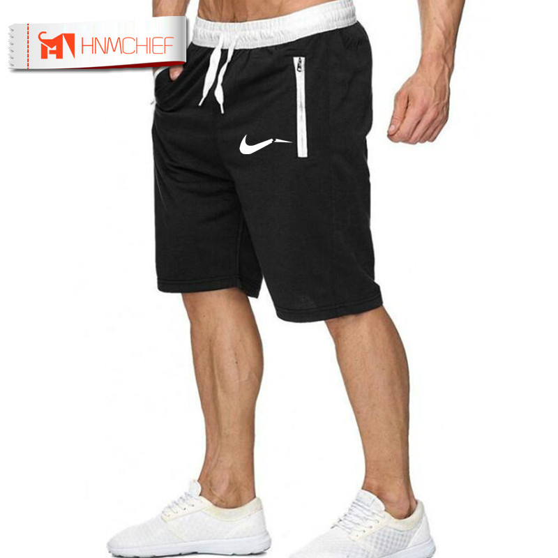 HNMCHIEF Summer Shorts Men Fast Dry Sports Shorts Quality Male Short Pant Breathable Elastic Waist Fashion Straight Boardshorts