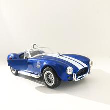 1:32 Scale Alloy Classic Diecast Car Model Toy Shelby Cobra 427 Metal Toy Miniature Vehicles Model For Collection Kids Gift цена и фото