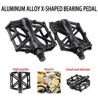 1 paar Radfahren Mountain Aluminium Legierung Flache Plattform Fahrrad Radfahren Reiten Pedale Pedal neue Fahrrad Pedal Sport und Unterhaltung -