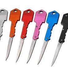 Мини-нож в виде ключа с надписью Camp наружное кольцо для ключей брелок складной открытие Открыватель Карманный пакет выживания гаджет мульти инструмент коробка для лезвий комплект