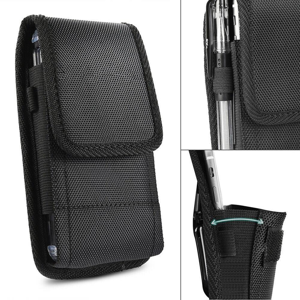 2019 Retro Men Phone Pouch Classic Black Men's Belt Bag Hanging Waist Storage Bag Belt Clip Pouch Case For IPhone Fanny Pack New