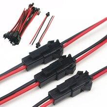20 pièces/ensemble mâle à femelle connecteur de fil Terminal ligne de borne pour LED plafonnier Downlight