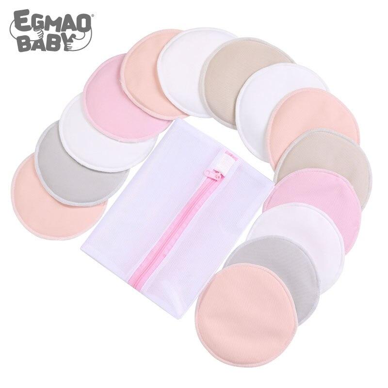 Organic Bamboo Nursing Breast Pads Breastfeeding Nipple Pad For Maternity Reusable Nipplecovers For Breast Feeding Nursing Pads