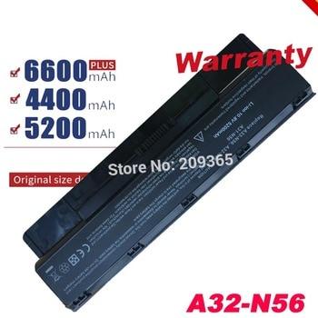Batterie d'ordinateur portable A31-N56 A32-N56 A33-N56 Pour Asus N56 N56D N56D N56DY N56J N56JK N56VM N56VV N56VZ N56JN N56JR N56V N56VB N56VJ