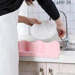 Domowy przyssawka Splash Guard TPE Splash Guard praktyczne trwałe naczynia do mycia wody przegroda dostaw z kuchni